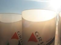Etiquetas in mould para vasos de plástico