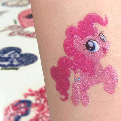 glitter tattoo-printer