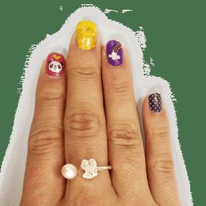 tatuajes para uñas