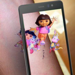 tatouage de réalité augmentée