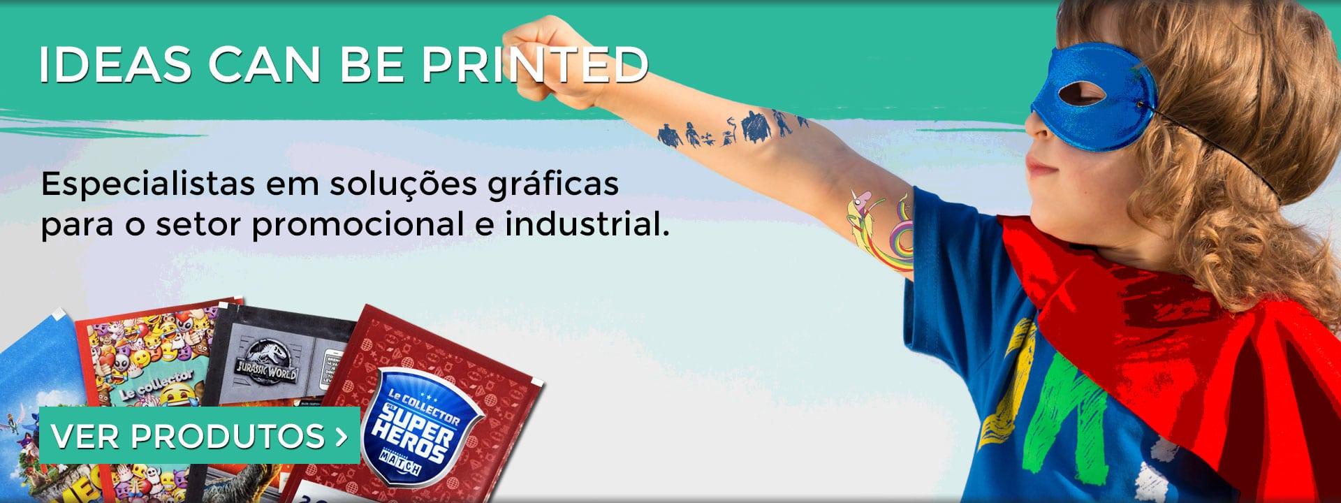Impressão industrial e promocional personalizada 1