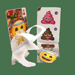 stickercards carte avec autocollant